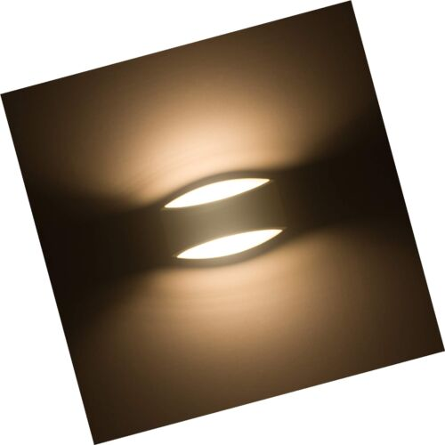 Sobrovo Led Wall Sconce up and Down Indoor Wall Light Uplighter Downlighter G...