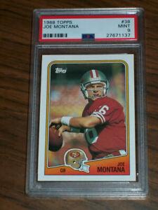 1988-Joe-Montana-38-Topps-PSA-9-San-Francisco-49ers