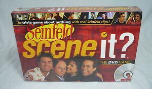 Seinfeld - DVD Scene It Trivia Game TV Show – Brand New - Sealed