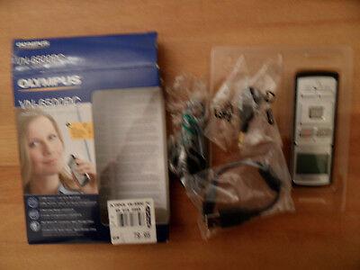 Olympus Vn 6500pc Diktiergerät+zubehör, Fast Neu, Nur 1x Verwendet, Guter Geschmack