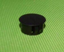 Drucktasten Kappen schwarz D 10 L11,5 für 3,3x3,3 Aufnahme 5 Stück