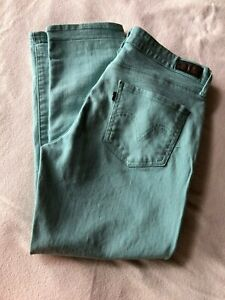 Womens-Levi-039-s-Mint-Green-Mid-Rise-Skinny-Jeans-Size-10