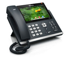 Yealink SIP-T48G 6-Line VOiP IP Phone Color Touch with Bluetooth Headset BT40