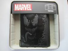 The Amazing Spider-Man Venom Marvel Comics Trifold Wallet BRAND NEW - BLACK