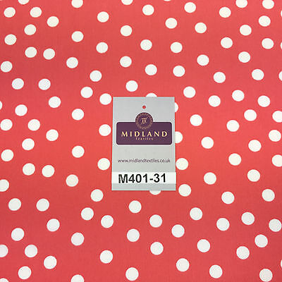 "Grey and White Small Dotted Light chiffon Printed fabric 58/"" M401-32 Mtex"