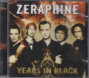 ZERAPHINE-years-in-black-CD