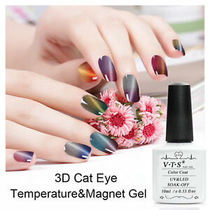 VTS-3D-Thermal-Color-Change-Cat-Eye-Magnetic-UV-Nail-Gel-Polish-Set-Soak-off-LED