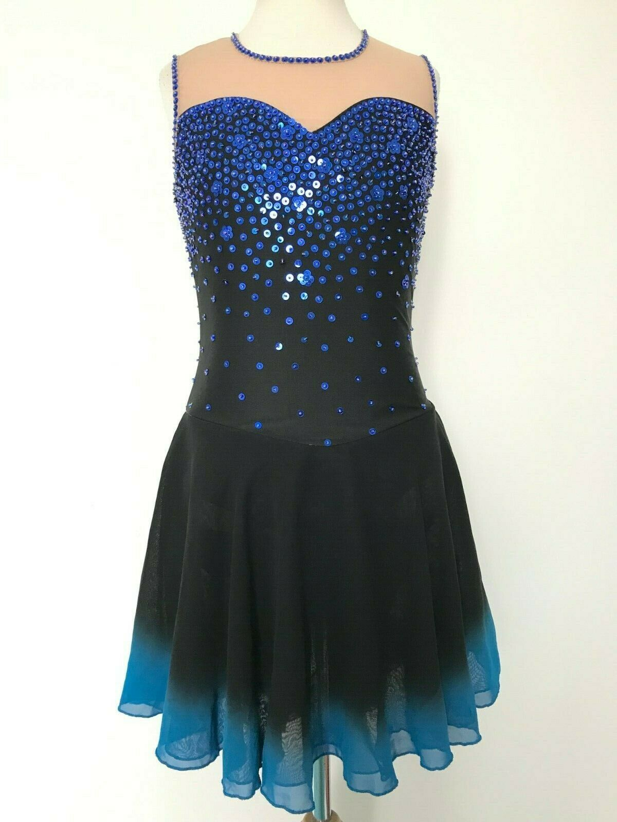 SALE  NEW FIGURE ICE SKATING  DANCE DRESS COSTUME ADULT S  large discount