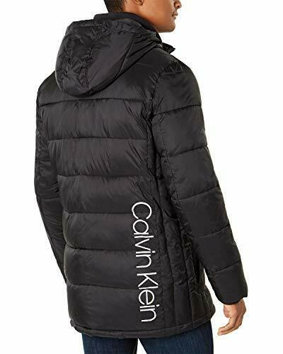 Mens M XL Packable Vest Jacket Puffer Winter Warm Sweater Coat Zip US Blue NEW