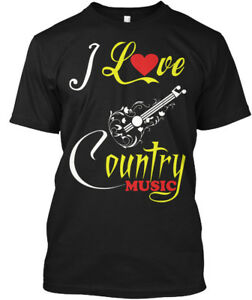 I-Love-Country-Music-Hanes-Tagless-Tee-T-Shirt