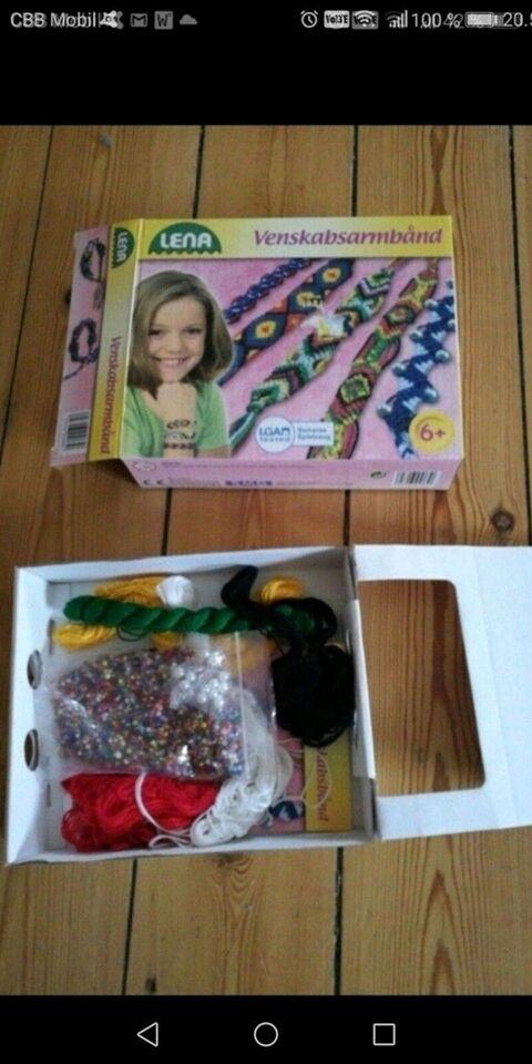 Andet legetøj, ting til armbånd, Lena