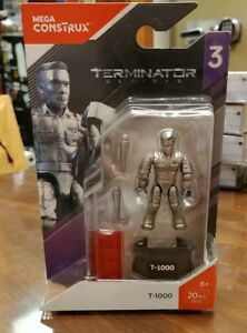 MEGA CONSTRUX ~ Terminator Genisys Series-3 Figure ~ T-1000