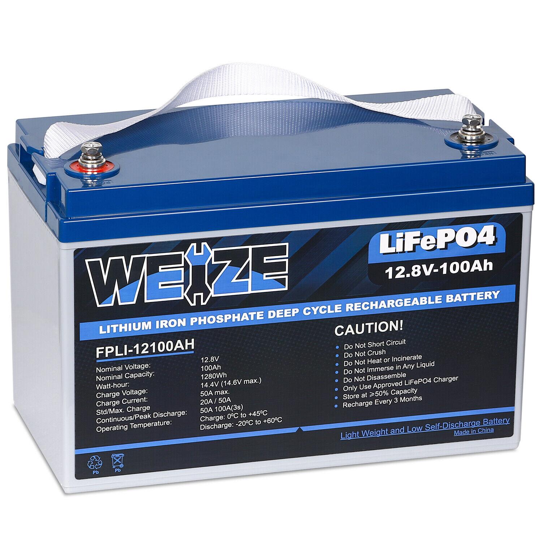 Lithium 12v 60ah Battery Marine Rv Solar Rechargeable For Sale Online Ebay