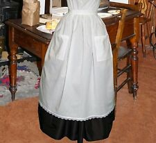 Ladies Victorian / Edwardian / American civil war half apron costume fancy dress