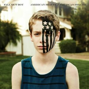 FALL-OUT-BOY-AMERICAN-BEAUTY-AMERICAN-PSYCHO-BLUE-VINYL-New-amp-Sealed