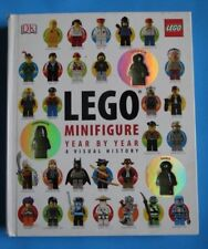 LEGO® Minifigure Year by Year : A Visual History by Daniel Lipkowitz and Greg Farshtey (2013, Hardcover / Toy; Plush; Doll)