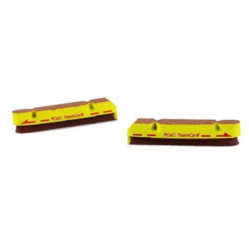 ASHIMA Road Brake Pad Inserts For Campagnolo Carbon Rims Yellow