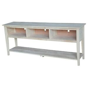 Whitewood Entertainment / tv stand - 72  TV-8-72 TV Stand NEW