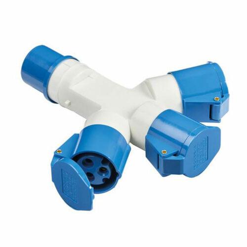 Male//Femal 240V 16A 3 PIN Waterproof Industrial Site Plug /& Sockets IP44 2P+E