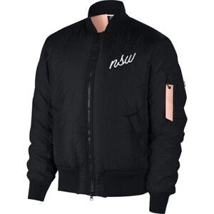 a892620c5f Image is loading Nike-Sportswear-NSW-Synthetic-Fill-Bomber-Jacket-black-
