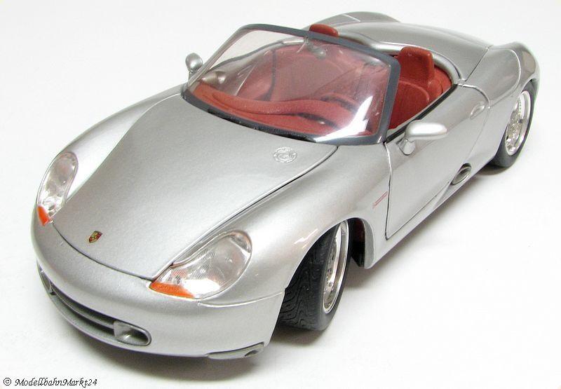 MAISTO Porsche Boxster silber gefedert  | Spielen Sie Sie Sie Leidenschaft, spielen Sie die Ernte, spielen Sie die Welt  b023c6