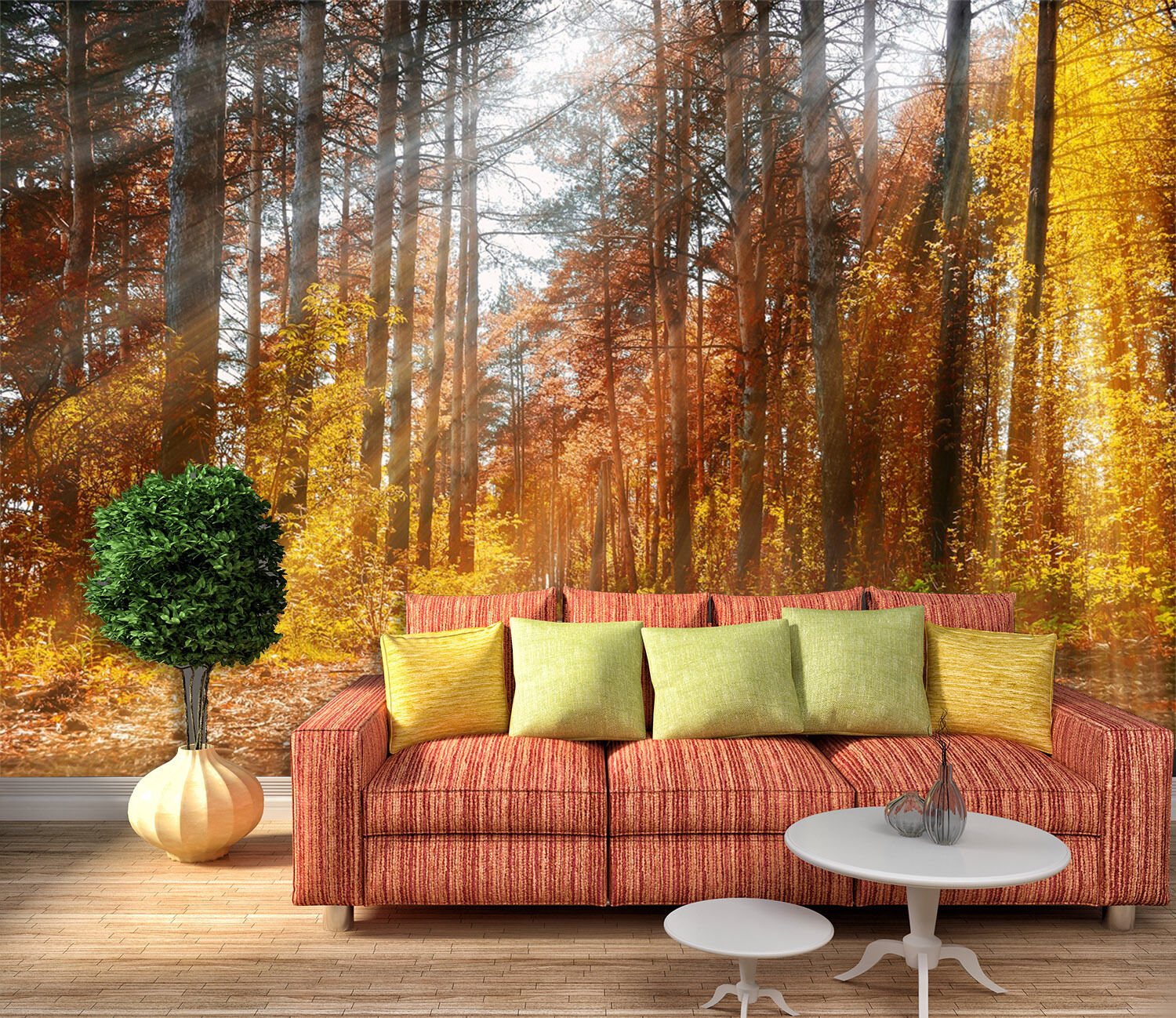 3D Jungle Sunshine 94 Wall Paper Wall Print Decal Wall Deco Indoor Wall