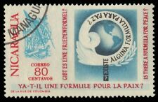 """NICARAGUA 887 (Mi1628) - """"Is there a Formula for Peace"""" Issue (pf53293)"""