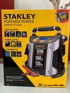NEW Stanley portable power 1200A Jump starter - Power supply - Compressor