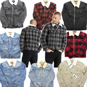 Levis-Sherpa-Trucker-Jackets-Many-Colors-Many-Sizes-Levi-039-s-Sizes-S-M-L-XL-XXL