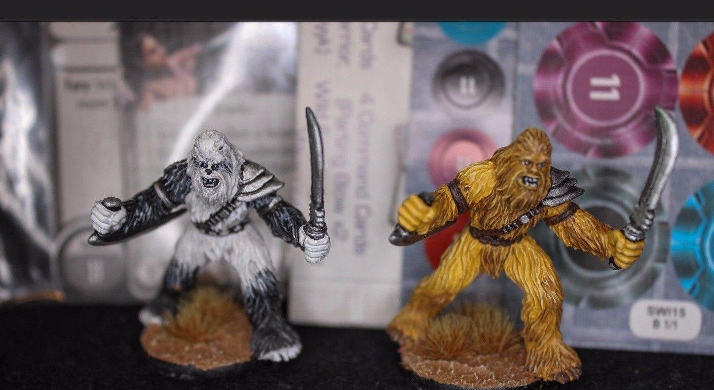 saludable Estrella Wars Juego De Asalto IMPERIAL Pintado Personalizado Wookiee Wookiee Wookiee guerreros aliado Pack  perfecto