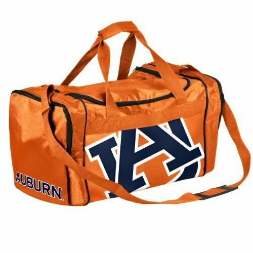 Black NCAA Auburn Tigers Collegiate Womens Duffel BagCollegiate Womens Duffel Bag One Size