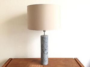 VINTAGE TSAO MARBLE TABLE LAMP MID CENTURY MODERN MINIMALIST DESIGNS - Eames marble table