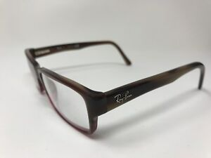 3acfe26d104 Ray-Ban Womens Eyeglasses RB5169 5541 54-16-140 Marble Red Fade GN57 ...