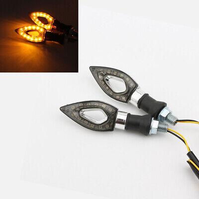 2x Bullet Turn Signal Lights for Suzuki Boulevard C50 C90 C109R M109R M50 M90