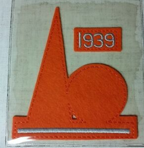 "MLB COOPERSTOWN COLLECTION 4.5"" x 4"" 1938 FOR THE 1939 WORLD'S FAIR PATCH - NIP!"