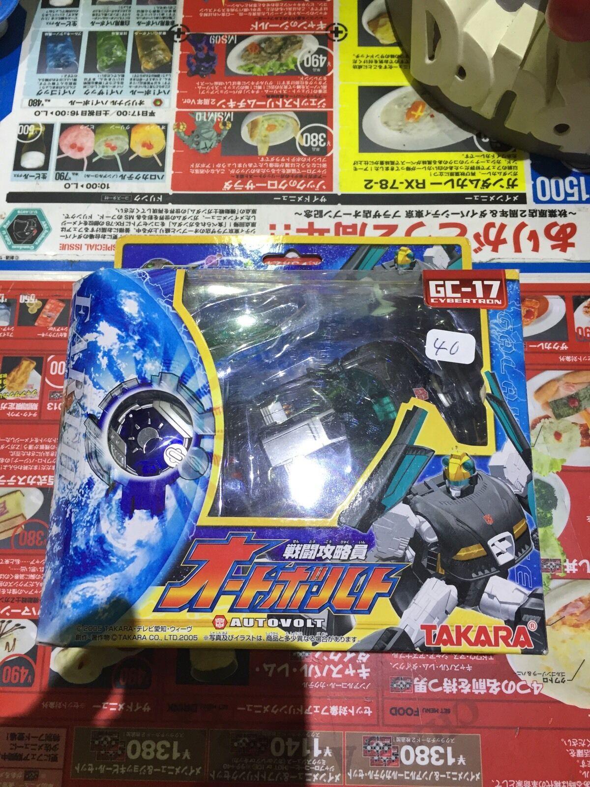 1 Boite Transformers Takara 2005 Autovolt Gc-17 Cybertron Galaxy Force