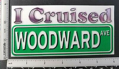 I Cruised TEDS Drive In Vinyl Decal Sticker 4300