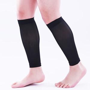 Medical Calf Compression Sleeve Socks Anti-Fatigue Travel Flight DVT Women Men
