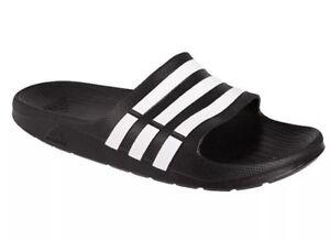 7e3ce480aa6f Nwt Adidas Duramo Black Slides Sandals. Men s Size 11. (G15890)