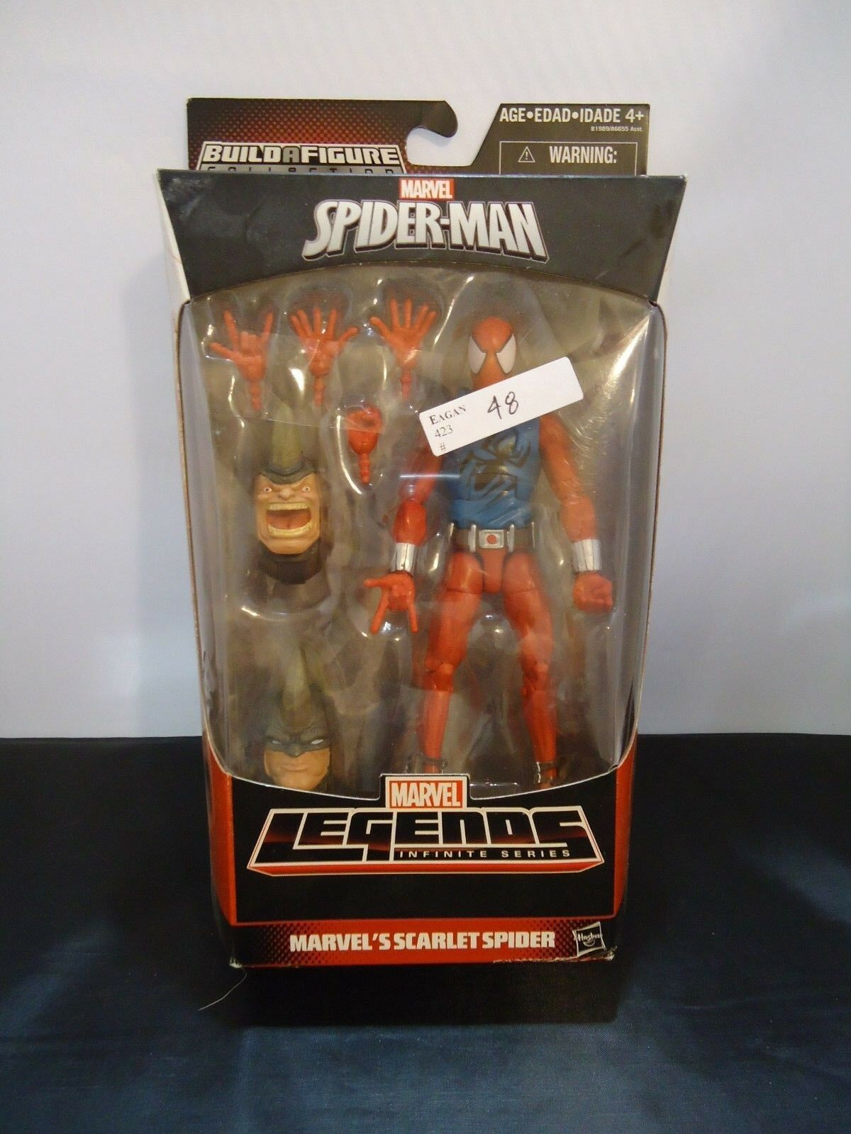 Marvel Legends 2015 Spideruomo Infinite Series Sautolet Spider nuovo