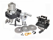 """Tailstock /& M8 Clamping Kit 6/"""" Rotary Table 3 Slot  With Dividing Plate set"""