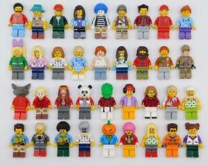 Lego-10-neue-LEGO-Minifiguren-Stadt-City-Series-Boy-Girl-Stadt-Menschen-Set