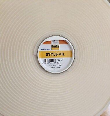 VILENE STYLE-VIL SEW IN INTERFACING WHITE AND BLACK