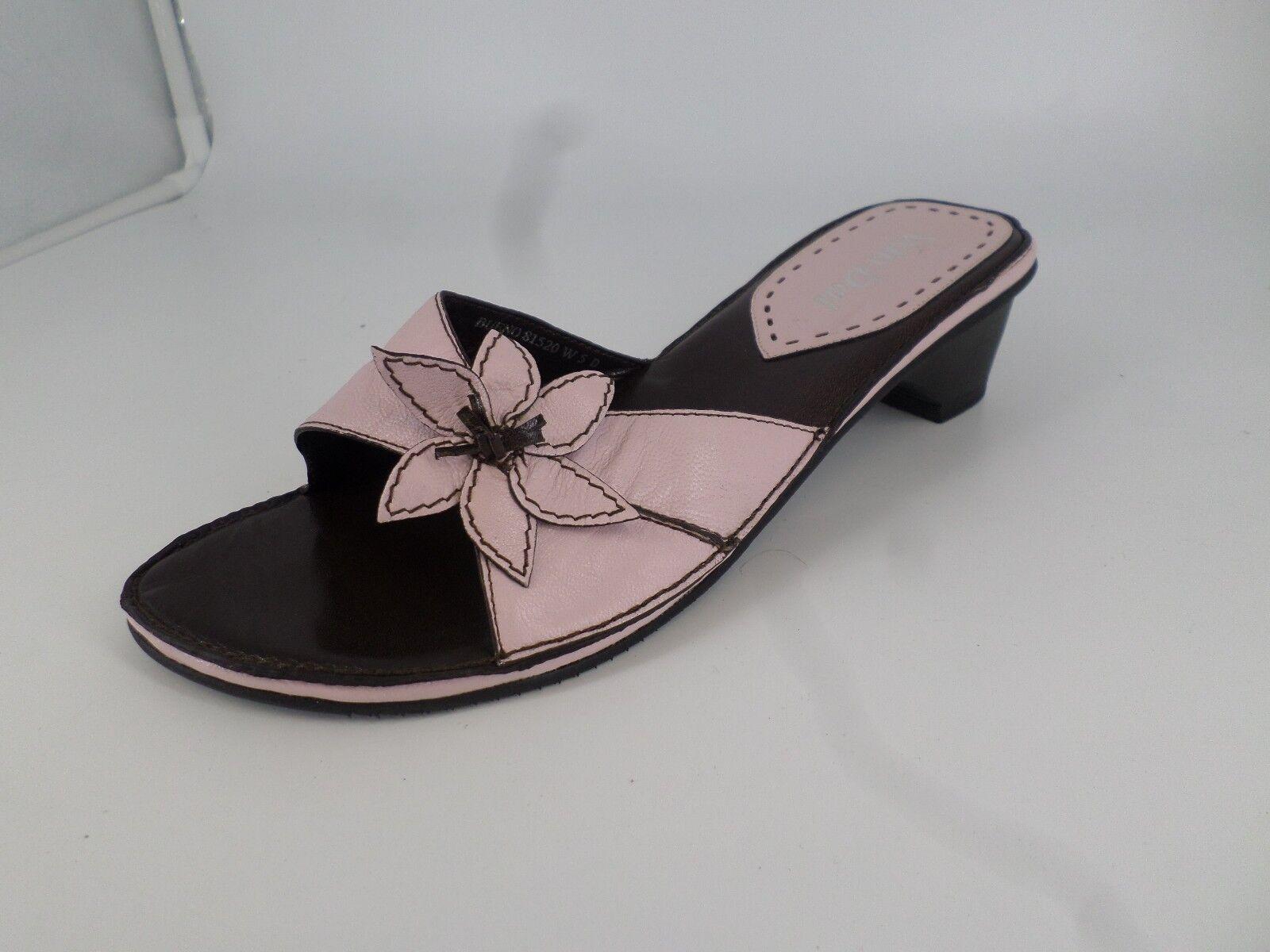 Van Dal femme mule à talon Chaussure'S Rose Taille UK 5 EU 38 NH086 HH 12
