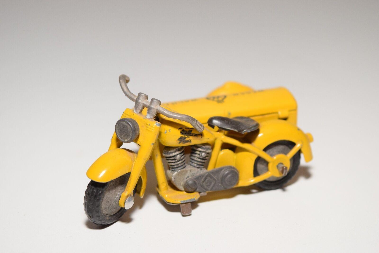 ..TEKNO DANMARK 764 HARLEY DAVIDSON MOTOR cykel SIDEbil ANWB WEGENWACHT Ex RARE