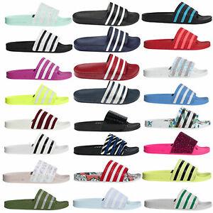 Adidas-Originals-Damen-Adilette-Ciabatte-da-Spiaggia-Pantofole-Bagno-Badeslider