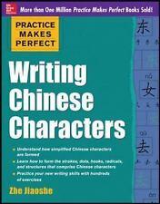Writing Chinese Characters by Zhe Jiaoshe (2013, Paperback)
