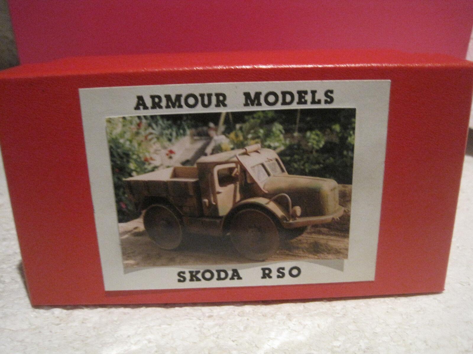 Rüstung modell über ein kit beautiful militaire skoda rso   1   35 neuf