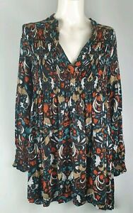 Ebby-And-I-Long-Sleeve-Floral-Blouse-Sz-S