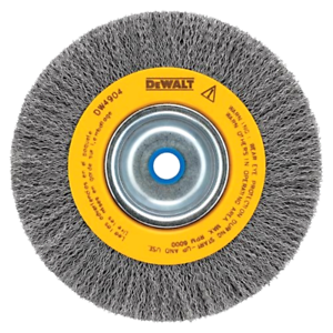 Pleasing Details About Dewalt Wire Abrasive Brush Buffing Wheel Crimped Bench Grinder 8 Inch Deburring Gmtry Best Dining Table And Chair Ideas Images Gmtryco